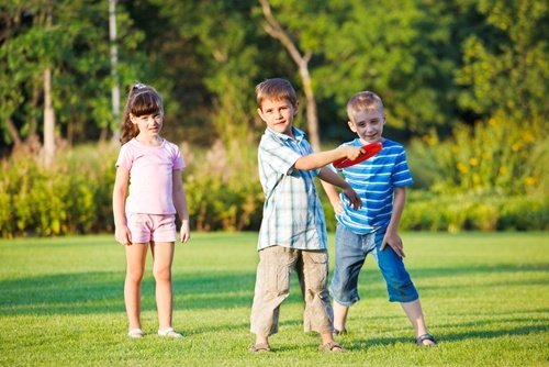 Physical therapists: Kids games for strength training