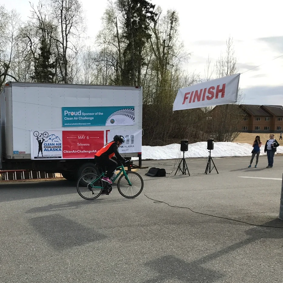 This Traveling Therapist tackled a 100-mile bike ride while on assignment in Alaska
