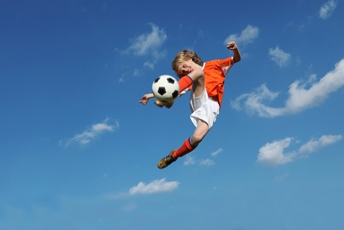 Soccer is one the best games to improve spatial awareness.